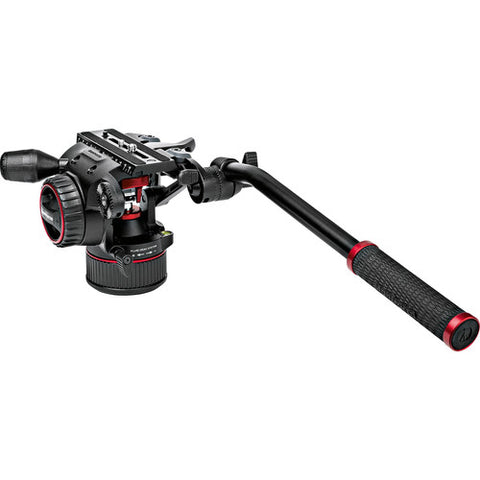 Manfrotto Nitrotech N8 Video Head + 546GB Pro Tripod W/ Level Spreader (MVKN8TWING)