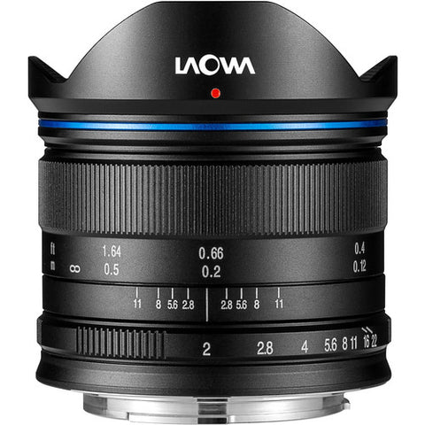 LAOWA 7.5mm f/2 C-Dreamer (Micro Four Thirds – Black)
