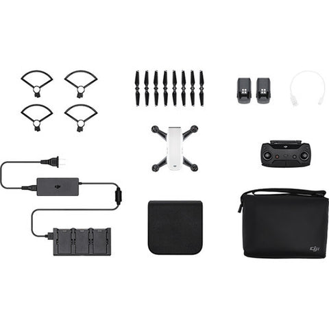 DJI Spark Quadcopter Fly More Combo – Alpine White