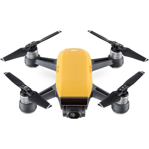 (SALE) DJI Spark Quadcopter Fly More Combo – Sunrise Yellow