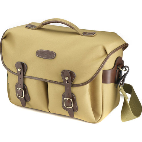 Billingham Hadley One Shoulder Bag (Khaki FiberNyte With Chocolate Leather Trim)