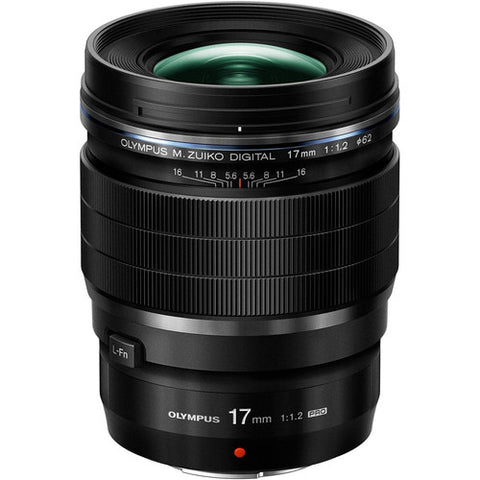 (SALE) Olympus M.Zuiko Digital ED 17mm f/1.2 PRO (Black)