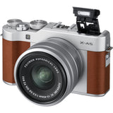 Fujifilm X-A5 (Brown) + XC 15-45mm f/3.5-5.6 OIS PZ (Free 2x 32GB SD Card + Camera Case + Fujifilm Neck Strap)
