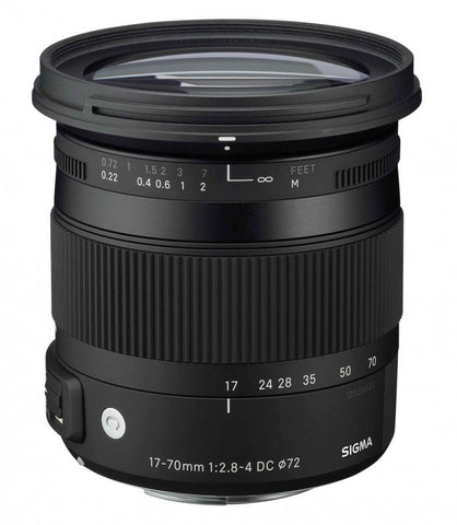 Sigma 17-70mm f/2.8-4 DC Macro OS HSM | CONTEMPORARY (Canon)