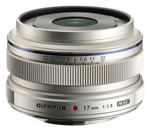 Olympus M.Zuiko Digital 17mm f/1.8 (Silver)