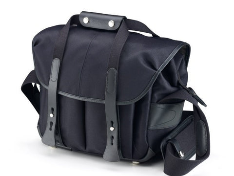 Billingham 207 Shoulder Bag (Black FibreNyte With Black Leather Trim)