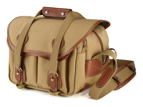 Clearance – Billingham 225 Shoulder Bag (Khaki With Tan Leather Trim)