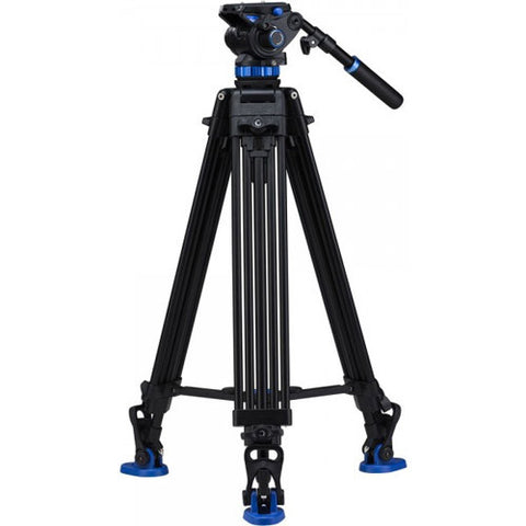 Benro A573TBS8 Aluminum Dual-Tube Video Tripod Kit