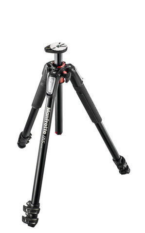 (SALE) Manfrotto 055 3 Section Aluminum Tripod With Horizontal Column (MT055XPRO3)