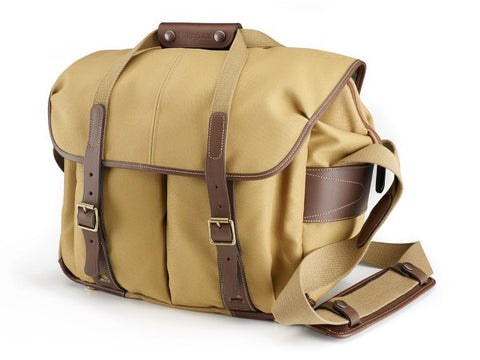 Billingham 307L Shoulder Bag (Khaki With Chocolate Leather Trim)