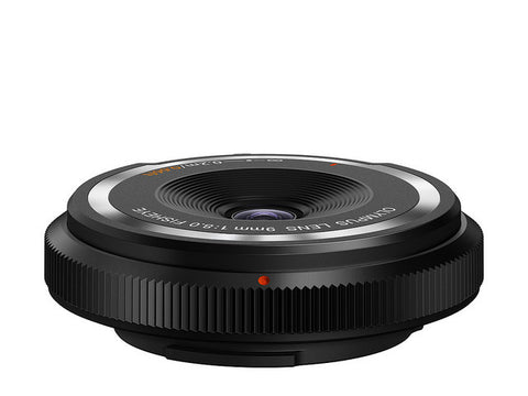 Olympus BCL-0908 9mm f/8.0 Fisheye Body Cap Lens (Black)