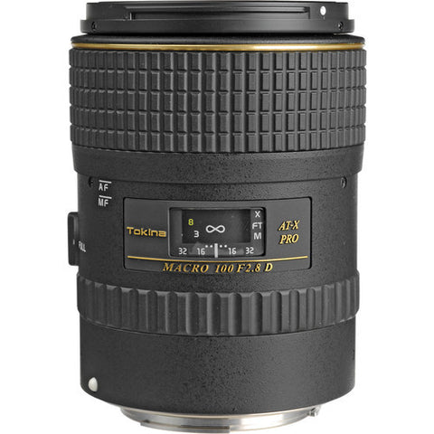 Tokina AT-X 100mm f/2.8 AF PRO D Macro (Canon)