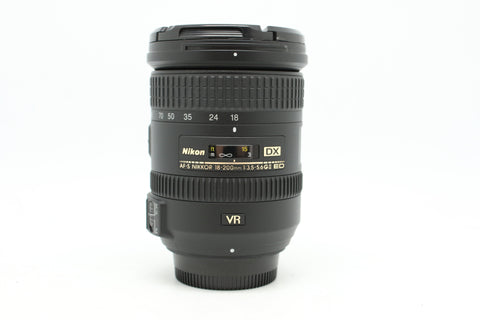 USED - NIKON 18-200MM F3.5-5.6 AFS VR II DX 98% Like New Condition,SN:42312410 YL PUDU
