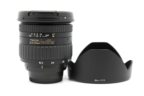 USED - Tokina AT-X AF DX 16.5-135mm f/3.5-5.6 95% Like New Condition,SN:8012118 YL PUDU