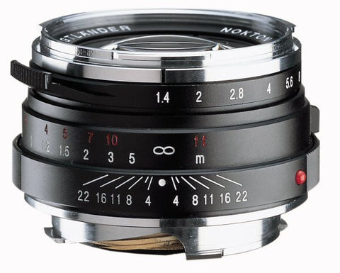 Voigtlander 40mm f/1.4 Nokton Multi Coated (Black) - Leica M mount