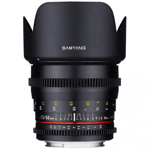 Samyang 50mm T1.5 VDSLR AS UMC (Canon)