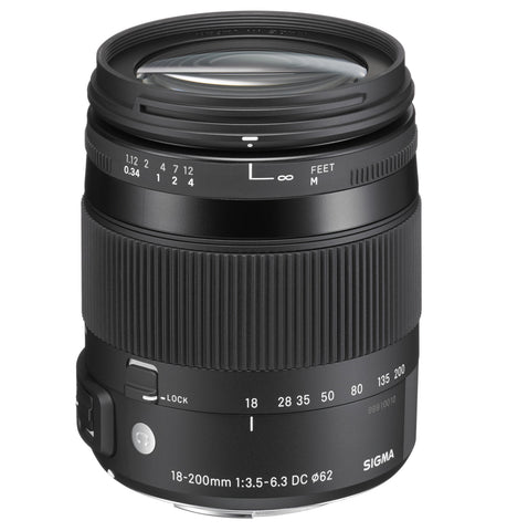 Sigma 18-200mm F3.5-6.3 DC Macro HSM | CONTEMPORARY (Sony)