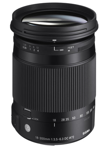 Sigma 18-300mm F3.5-6.3 DC MACRO OS HSM | CONTEMPORARY (Canon)