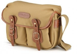 Billingham Hadley Small Shoulder Bag (Khaki FibreNyte With Tan Leather Trim)