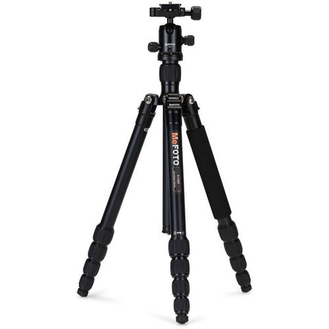 MeFOTO A1350Q1 RoadTrip Aluminum 5 Section Travel Tripod (Black)