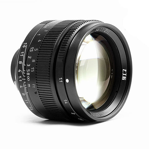 7artisans M50mm F1.1 (Black – For Leica M-Mount)