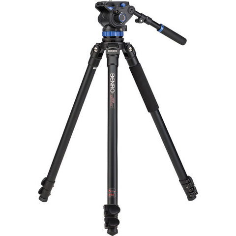 Benro A373FBS7 Aluminum 3 Section Video Tripod Kit