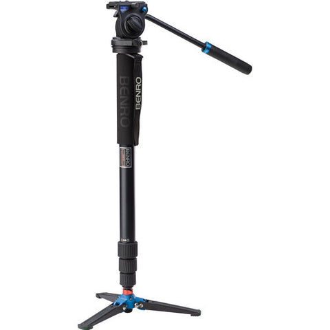 Benro A38TDS2 Aluminum 4 Section Video Monopod Kit