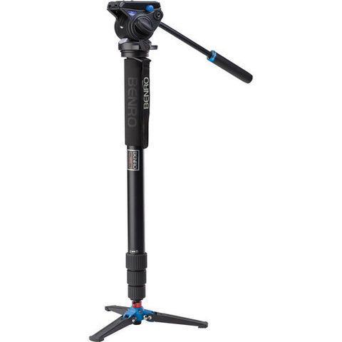 Benro A48TDS4 Aluminum 4 Section Video Monopod Kit