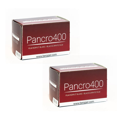 Bergger Pancro 400 Black & White Negative Film (35mm Roll Film) - 2 Packs Film