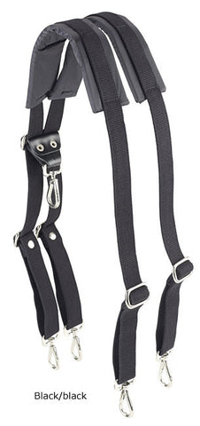 Billingham Backpack Harness (Black Webbing with Black Trim)