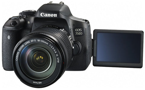 Canon EOS 750D + EF-S 18-135mm f/3.5-5.6 IS STM Lens