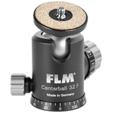 FLM CB-32F Simple Tripod Ballhead with Friction + SRB-60 + QRP-70 (CB32FP.SRB60 W/ 70 PLATE)