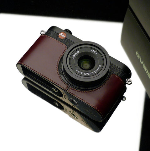 Gariz Leica X1 And X2 Leather Camera Half Case (Brown)