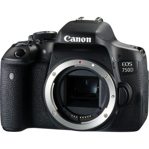 (MERDEKA SALE) Canon EOS 750D (Body) [FREE 16GB SD Card + Camera Bag] – Online Redemption Free Battery
