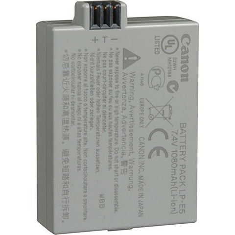 Canon LP-E5 Rechargeable Li-Ion Battery (For EOS 1000D / 500D)