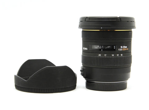 Used - Sigma 10-20mm F3.5 EX DC HSM Lens (Canon) 90% as new with box, SN: 10937756, YL PJ