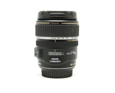 Used - Canon 17-85mm F4-5.6 EFS IS USM Lens 90% as new, SN: 93011351, YL PJ
