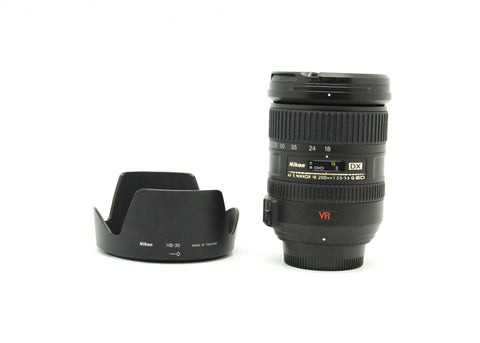 Used - Nikon 18-200mm F3.5-5.6G AFS ED VR DX Lens 90% as new, SN: 2525575, YL PUDU