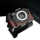 Gariz Olympus OM-D E-M1 Leather Camera Half Case (Brown)