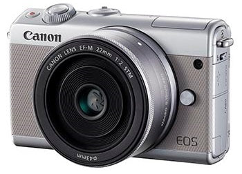 (SALE) Canon EOS-M100 + EF-M 15-45mm f/3.5-6.3 IS STM (Grey) [FREE 16GB Card & Camera Bag] (Online Redemption RM250 Cashback & FREE LP-E12 Battery + 32GB SD Card)