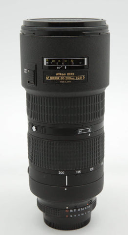 Used - Nikon 80-200mm F2.8 AFD N ED Lens 90% as new, SN:728878, YL PJ