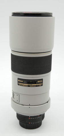 Used - Nikon 300mm F4 D AFS ED Lens 90% as new, SN:211953, YL PJ