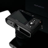 Gariz Sony DSC-RX1 Leather Camera Half Case (Black with Grip)