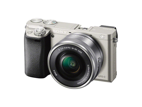 (SALE) Sony A6000 (Silver) + E PZ 16-50mm f/3.5-5.6 OSS (FREE SONY 16GB SD CARD 94MB/s + Sony NP-FW50 Battery)