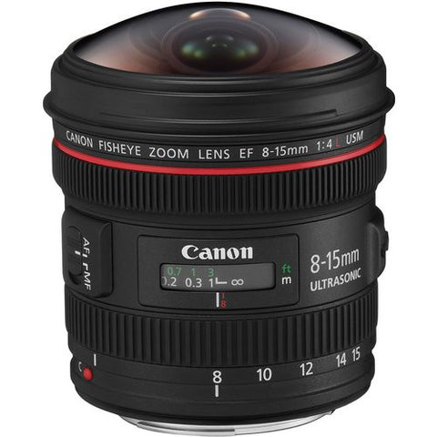 Canon EF 8-15mm f/4.0L USM Fisheye