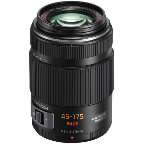 Panasonic Lumix G X Vario PZ 45-175mm f/4-5.6 ASPH. Power O.I.S (Black)