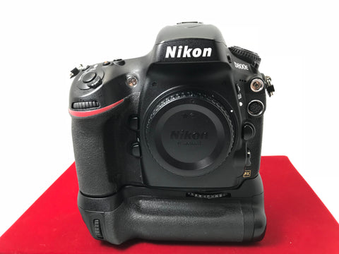USED- Nikon D800E Body With MB-D12 Battery Grip(SC:41K),85% Like New Condition With Box,S/N:8006102,YL PJ
