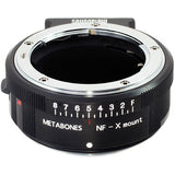 Metabones Nikon G to Fujifilm X-Mount Lens Mount Adapter