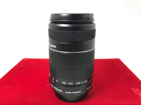 USED- Canon EF-S 55-250mm F4-5.6 IS II Lens,95% Like New Condition,S/N:9612008290,YL PJ