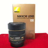 USED-Nikon 10.5mm F2.8 AF DX Fisheye Lens,90% Like Condition With Box,S/N:389352,YL PJ.